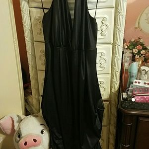 Vintage 2000s halter dress